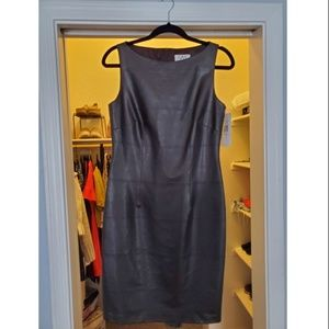 David Meister Leather Dress Size 6
